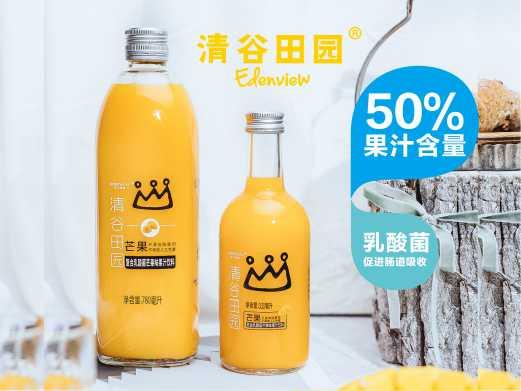 50%复合乳酸菌芒果汁饮料