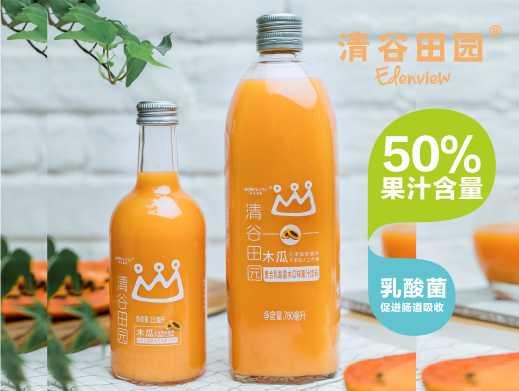 50%复合乳酸菌木瓜汁饮料