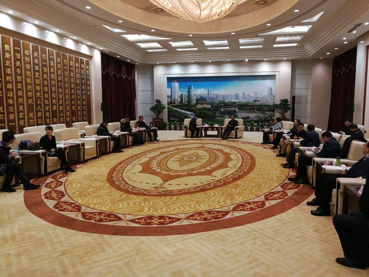 杨广亭副市长会见uwin电竞app集团董事长高亮及阿里巴巴战略发展大区总经理李瑞华一行