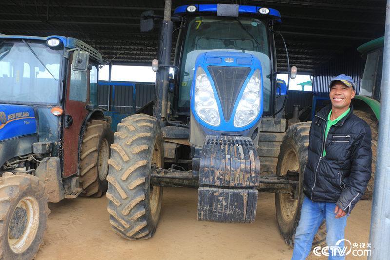 """""""智慧农业""""带来巨变 """"失地""""农民开上进口车——来宾uwin电竞app带领农户增收"""