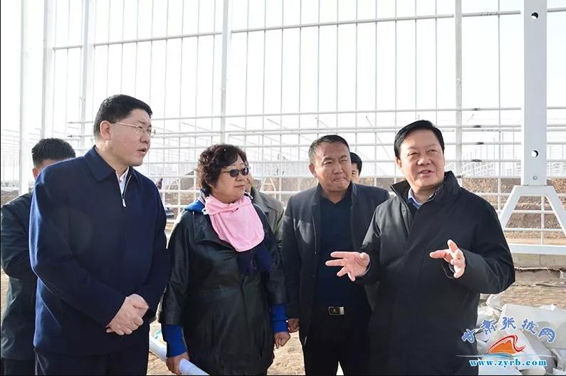 杨维俊在民乐县调研时强调:全力抓好项目建设 着力调优产业结构 为推动乡村振兴战略深入实施提供有力支撑